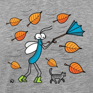 Autumn leaves - Mannen Premium T-shirt