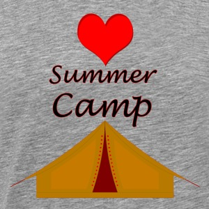Love summer camp - Men's Premium T-Shirt
