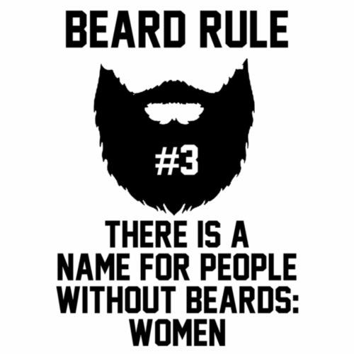 BEARD RULE - Maglietta Premium da uomo