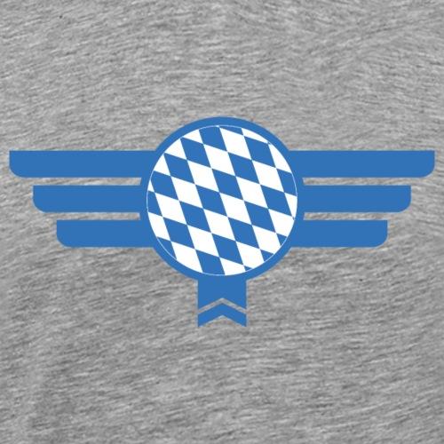 Bayern Emblem Flagge - Männer Premium T-Shirt