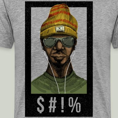 $#!% - Männer Premium T-Shirt