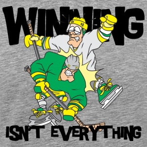 Hockey Winning Is'nt Everything - Men's Premium T-Shirt