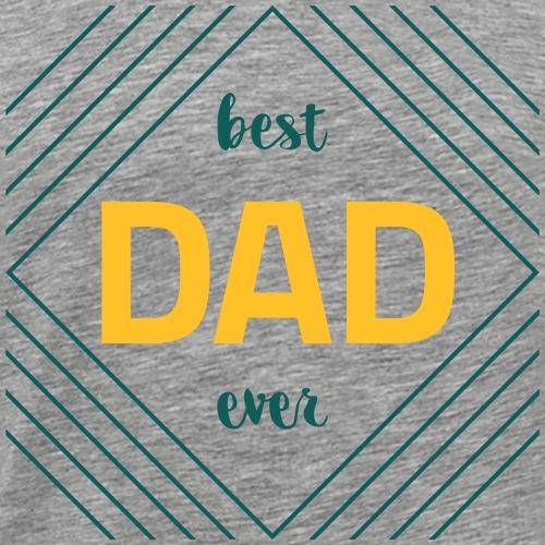 Best Dad Ever - Herre premium T-shirt