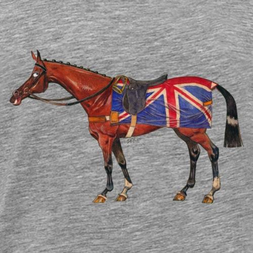 British horse - T-shirt Premium Homme
