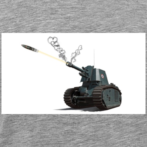 105 leFH18B2 Shells of Love - Men's Premium T-Shirt