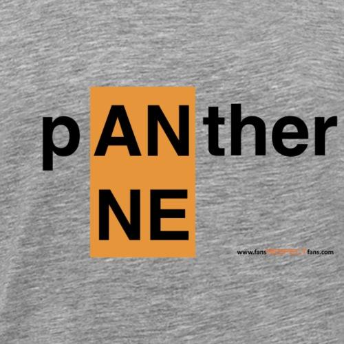 Anne Panther / schwarze Schrift - Männer Premium T-Shirt