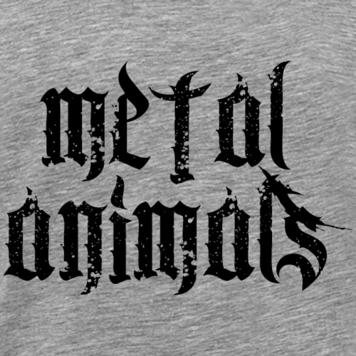 Metal Animals - Männer Premium T-Shirt