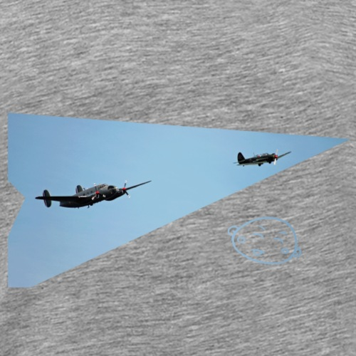 Smily_flight - Mannen Premium T-shirt