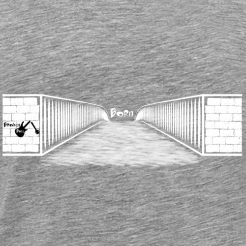 Born Design Broken Bass - Männer Premium T-Shirt
