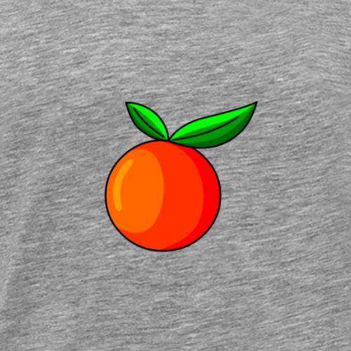 Orange - Männer Premium T-Shirt