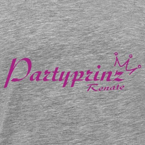 Partyprinz Logo - Männer Premium T-Shirt