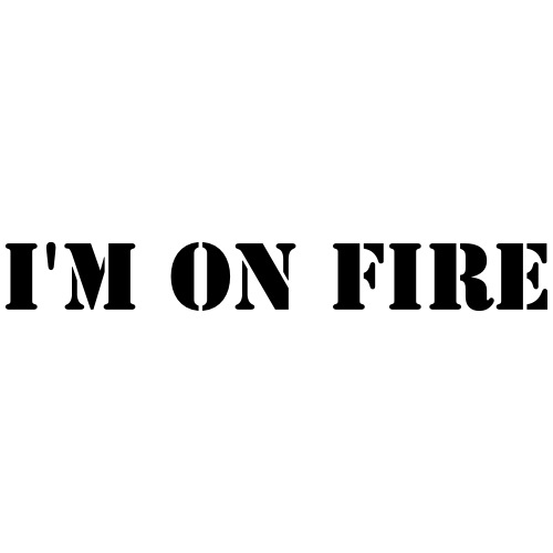 I'm on fire - Männer Premium T-Shirt