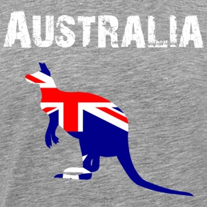 Nation-Design Australia 01 - Herre premium T-shirt