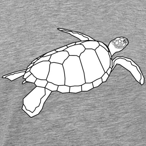 Wasserschildkröte - Turls Blank - Männer Premium T-Shirt