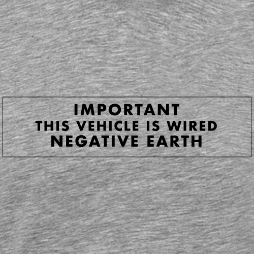 Wired Negative Earth - T-shirt Premium Homme
