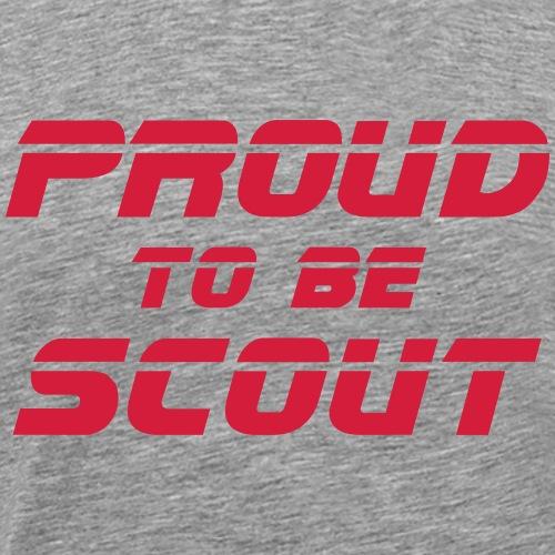 Proud to be scout Typo - Designfarbe frei wählbar