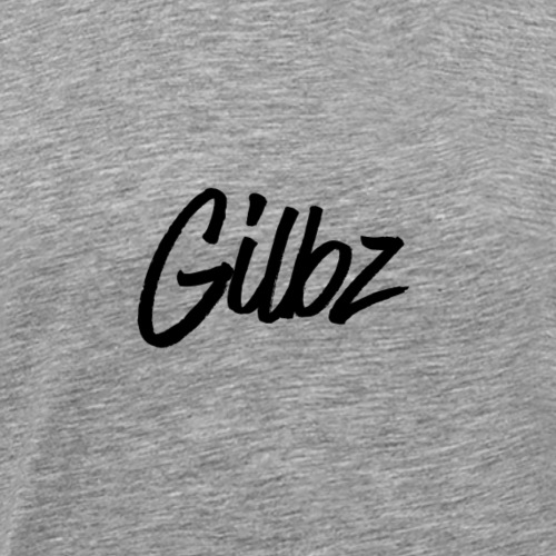 Gilbz Original White T-Shirt - Men's Premium T-Shirt