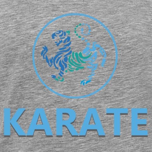 Karate martial arts - Camiseta premium hombre