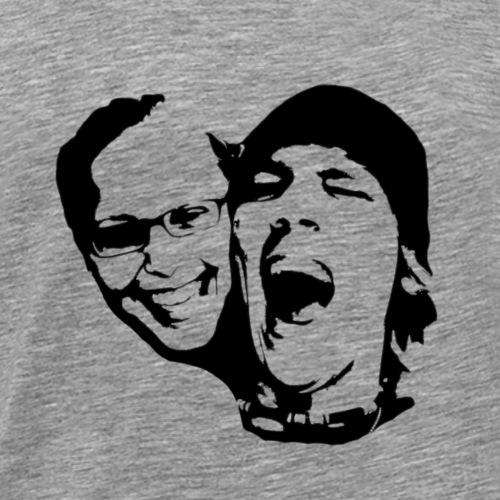 Jenny Christian Silhouette / Stencil / Street Art - Männer Premium T-Shirt