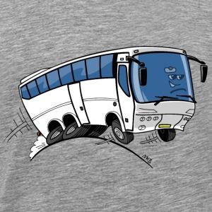 0710 bus - Mannen Premium T-shirt