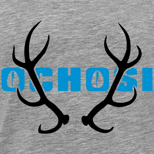 Ochosi Hunter 02 - Mannen Premium T-shirt