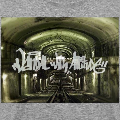 White subway vandal by VWA - T-shirt Premium Homme