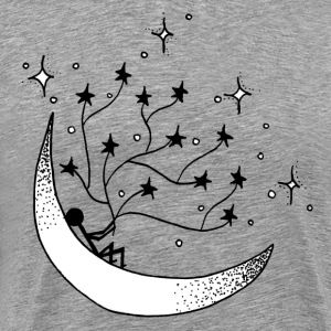 Holding on to stars - Men's Premium T-Shirt