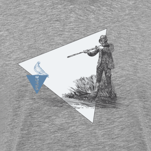 Think Before You Shoot - Männer Premium T-Shirt