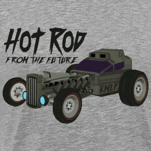 Hot Rod from the future v3 style Kmlf - Men's Premium T-Shirt