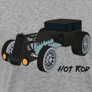 Hot Rode Kmlf - Herre premium T-shirt