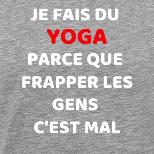 Je fais du yoga 2 - T-shirt Premium Homme