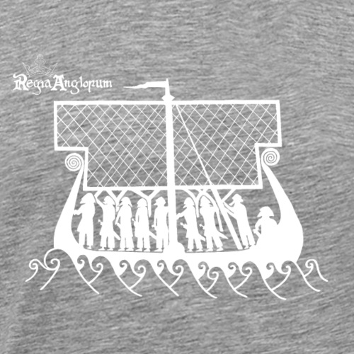 Regia TShirt Boat Clearbackground 2 White - Men's Premium T-Shirt