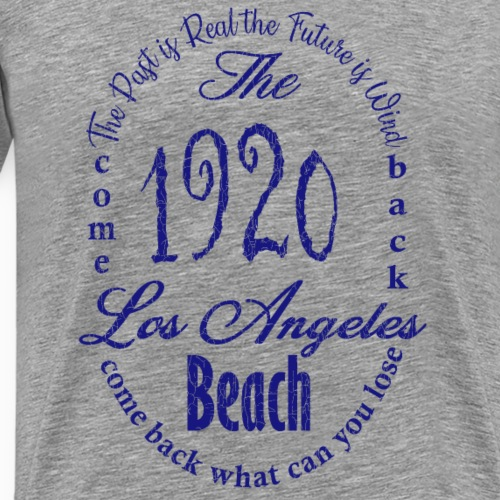 Los Angeles 1920 _ blue - Männer Premium T-Shirt