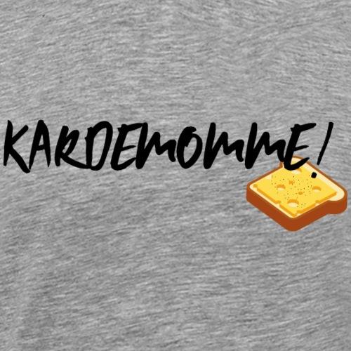 Kardemomme! (ljusgrå) - Premium-T-shirt herr