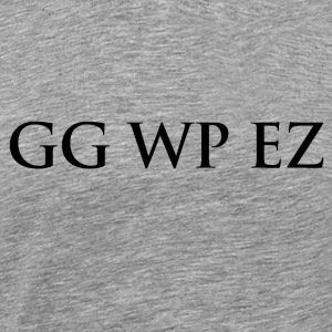 gg wp ez - Premium T-skjorte for menn