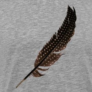 Guinea Fowl Feather - Premium T-skjorte for menn