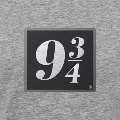 Andén nueve y tres cuartos - Camiseta premium hombre