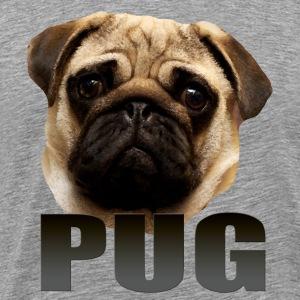Pug - Premium T-skjorte for menn