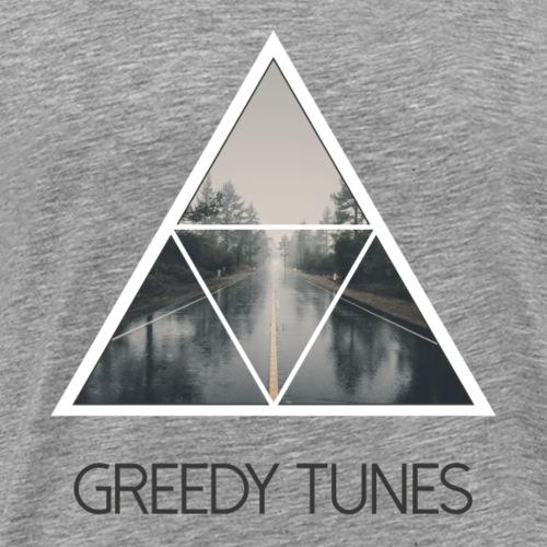 Greedy Tunes Road - Männer Premium T-Shirt