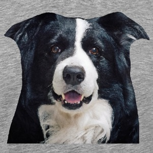 Border Collie - Premium-T-shirt herr