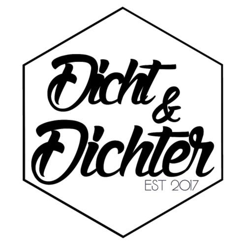 DICHT & DICHTER Support Geschenk Logo - Männer Premium T-Shirt