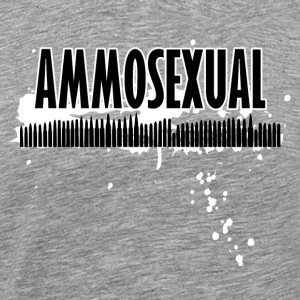 Ammosexual Multi-Calibre (sort) - Herre premium T-shirt