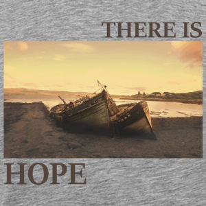 There_is_hope_natural_colour - T-shirt Premium Homme