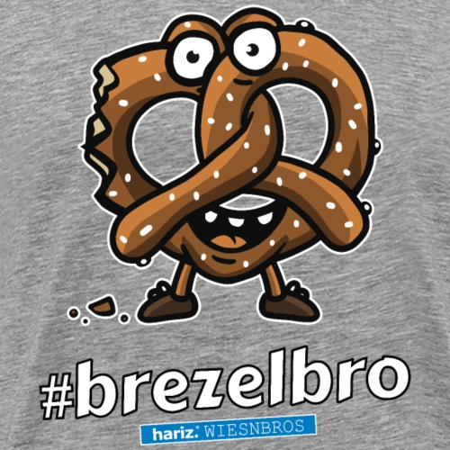 Brezelbro HARIZ PIXBROS WIESNBROS Oktoberfest Wies - Männer Premium T-Shirt