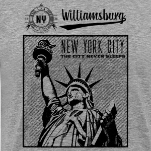 New York City · Williamsburg - T-shirt Premium Homme