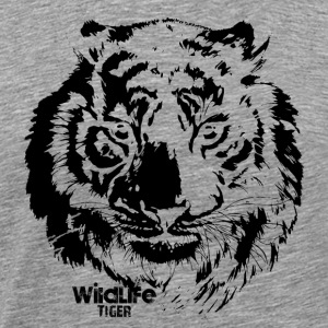Wildlife · Tiger - Men's Premium T-Shirt