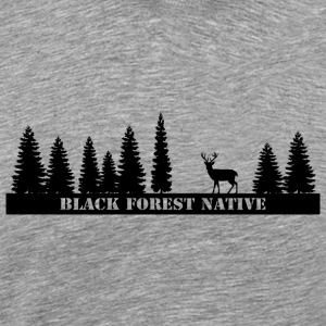 Black Forest Native - Premium-T-shirt herr