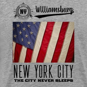 New York City · Williamsburg - Men's Premium T-Shirt