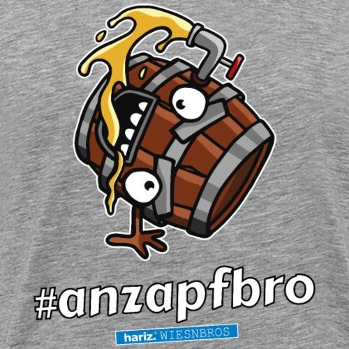 Anzapfbro HARIZ PIXBROS WIESNBROS Oktoberfest Wies - Männer Premium T-Shirt
