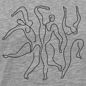 "Picasso ""Three Dancers"" - Men's Premium T-Shirt"